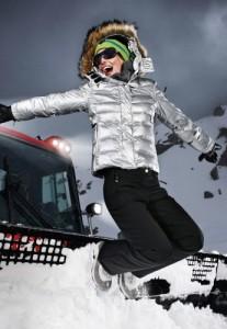 Skijacke damen fire ice